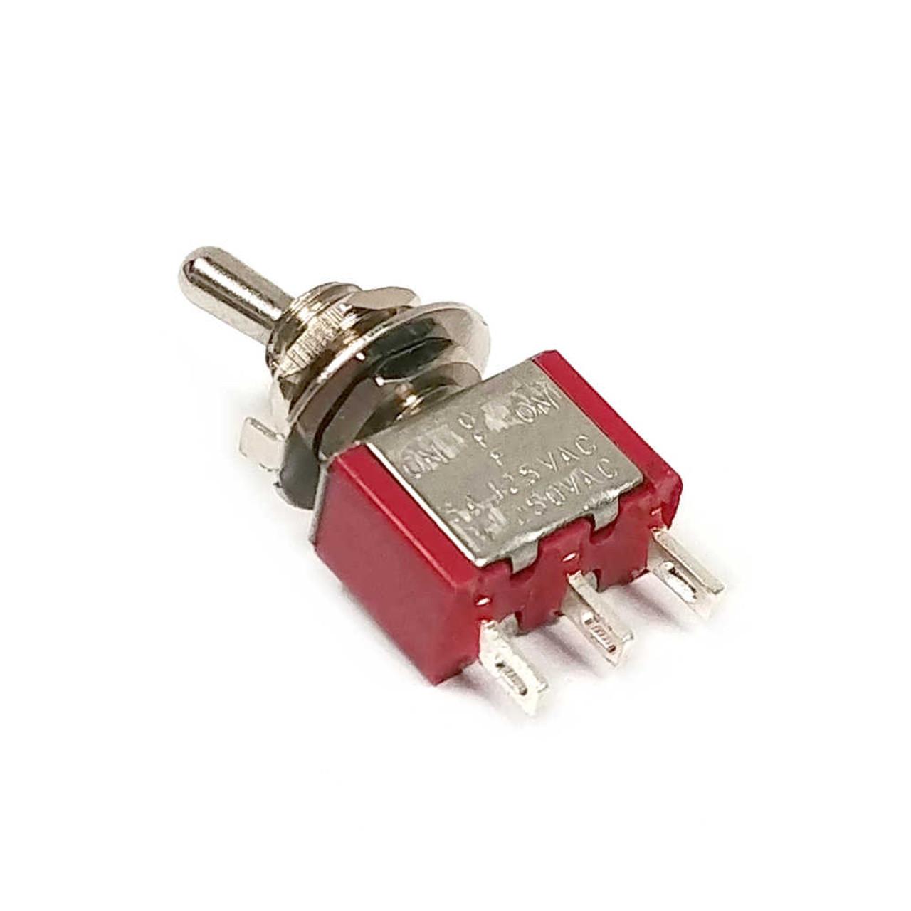 Mini Switch - Short Bat SPDT On-Off-On