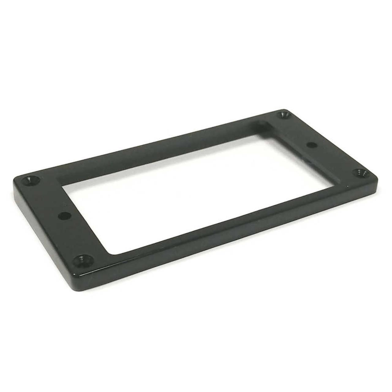 Humbucker Mounting Ring - Flat/Slanted Short - Black