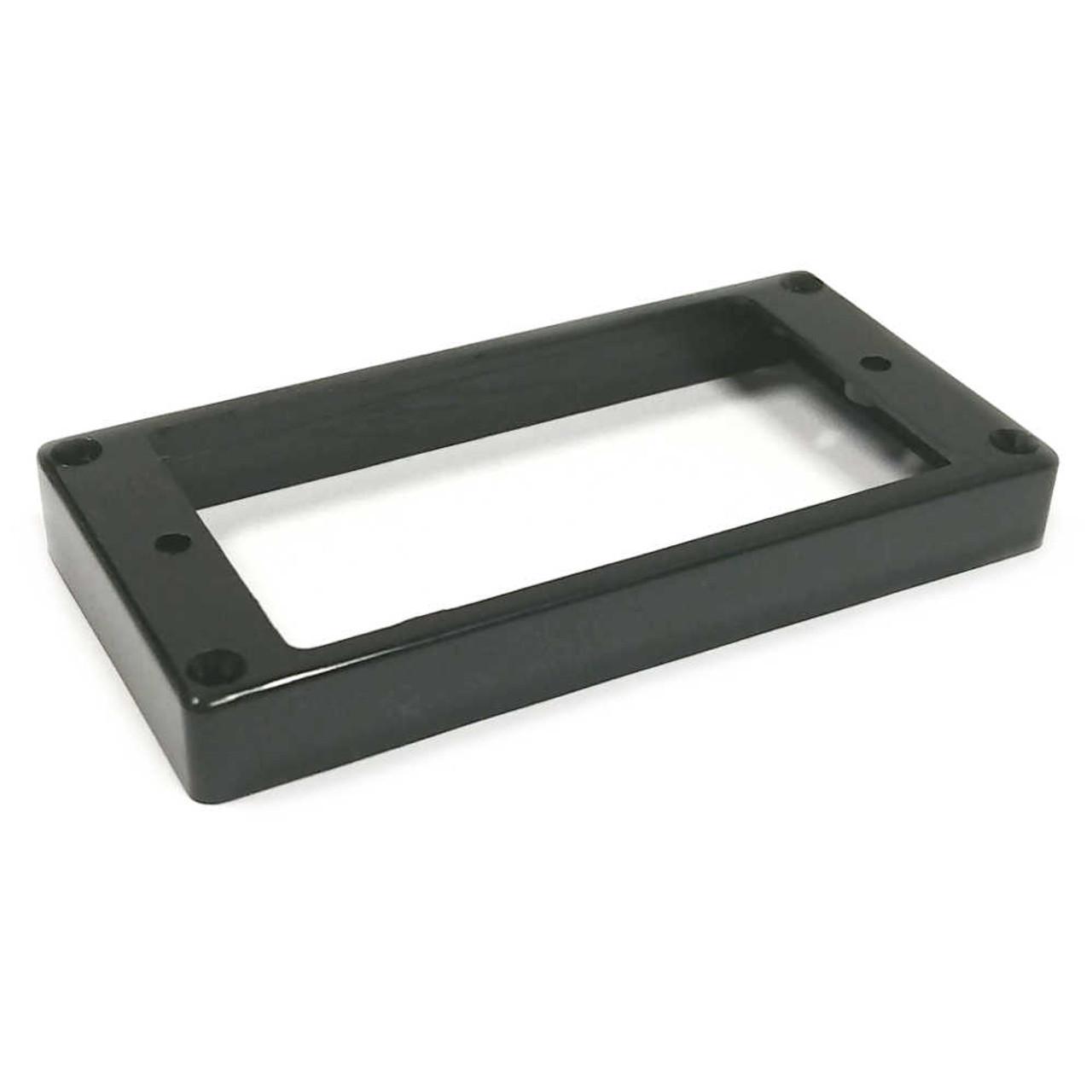 Humbucker Mounting Ring - Flat/Slanted Tall - Black