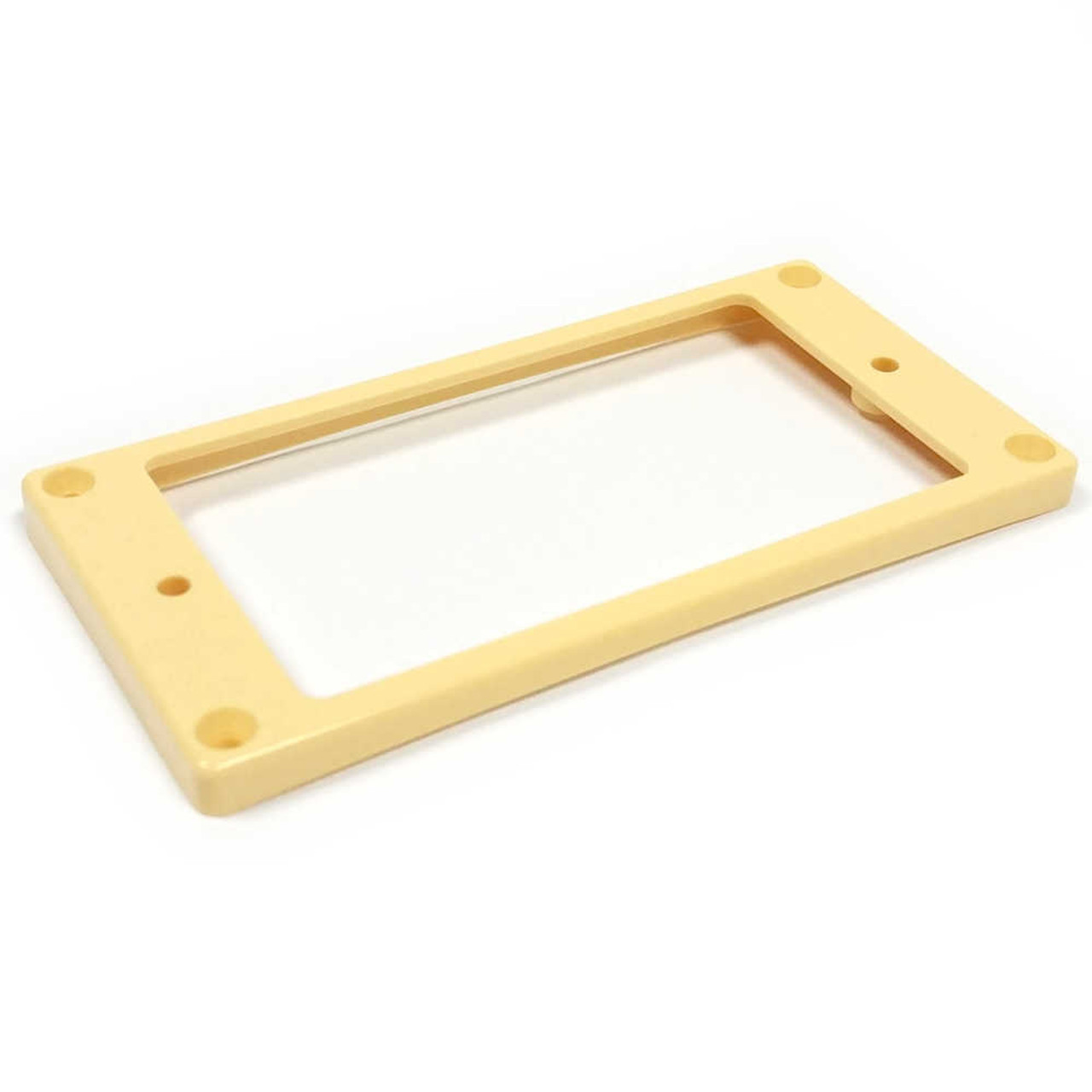 Humbucker Mounting Ring - Curved/Slanted Short - Cream