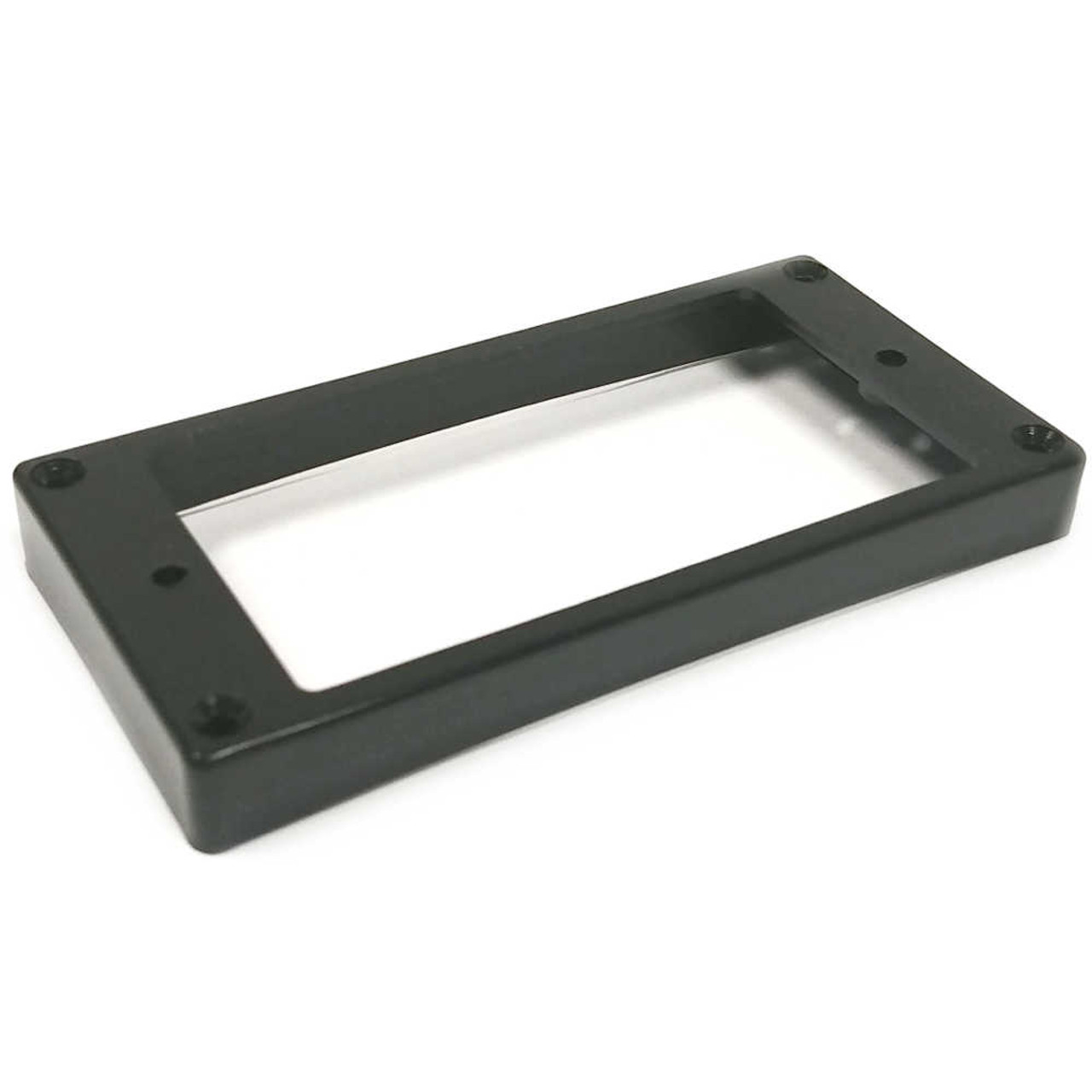 Humbucker Mounting Ring - Curved/Slanted Tall - Black