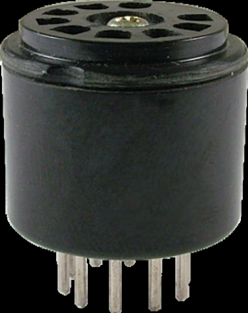 Socket Saver - 9 Pin Mini Tube Socket (straight lugs)