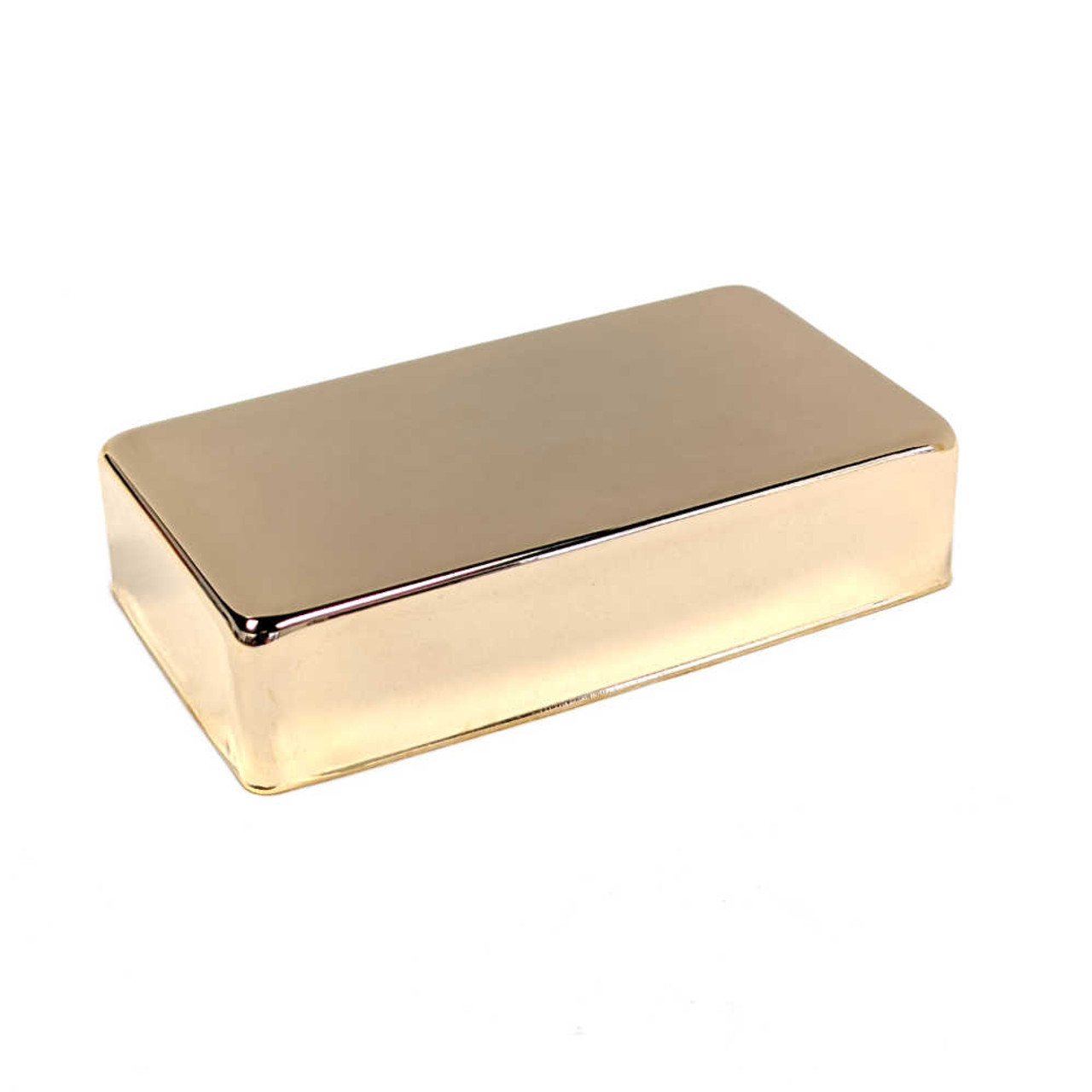 Humbucking Pickup Cover - Gold (plated nickel/silver)