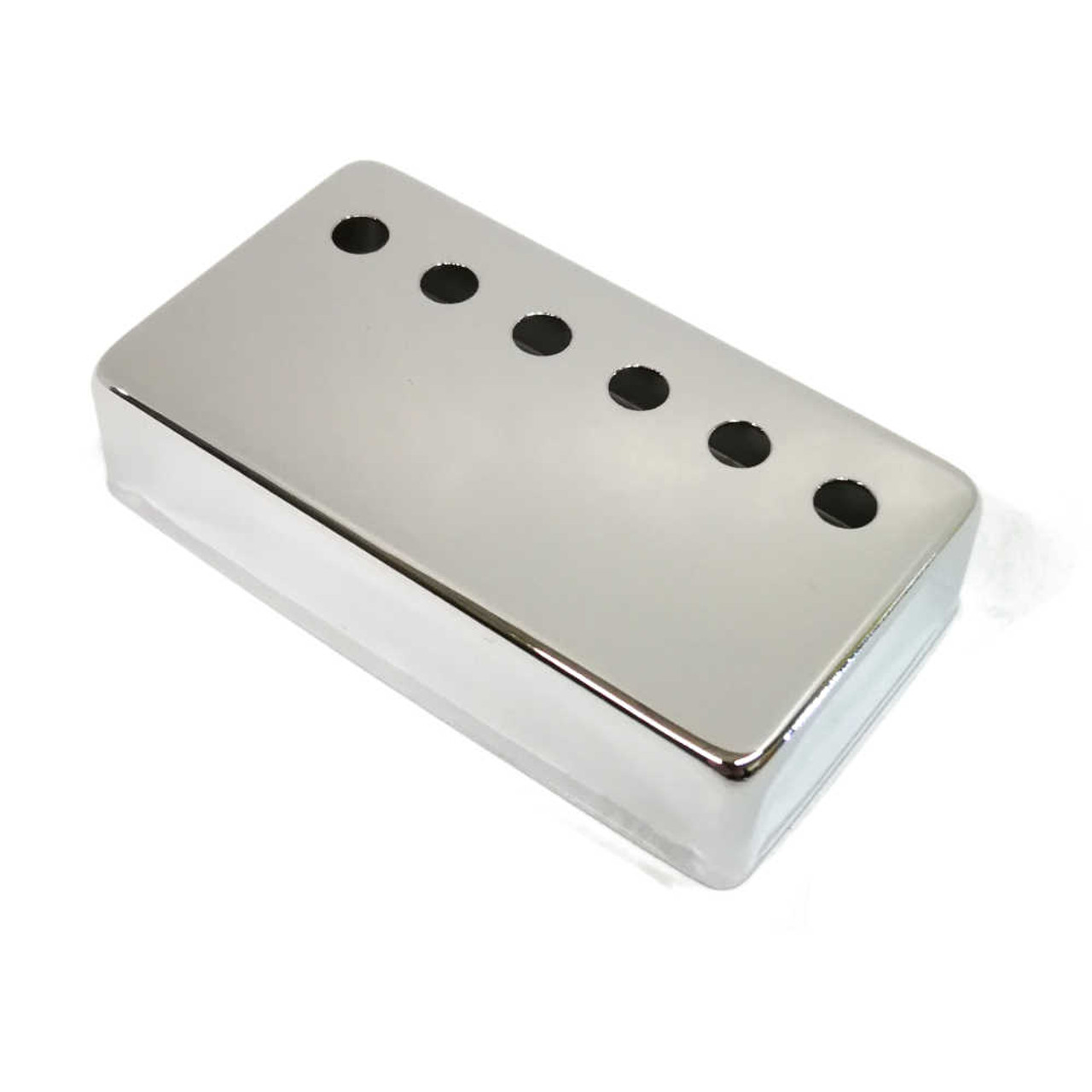 Humbucking Pickup Cover - 50mm Chrome (plated nickel/silver)