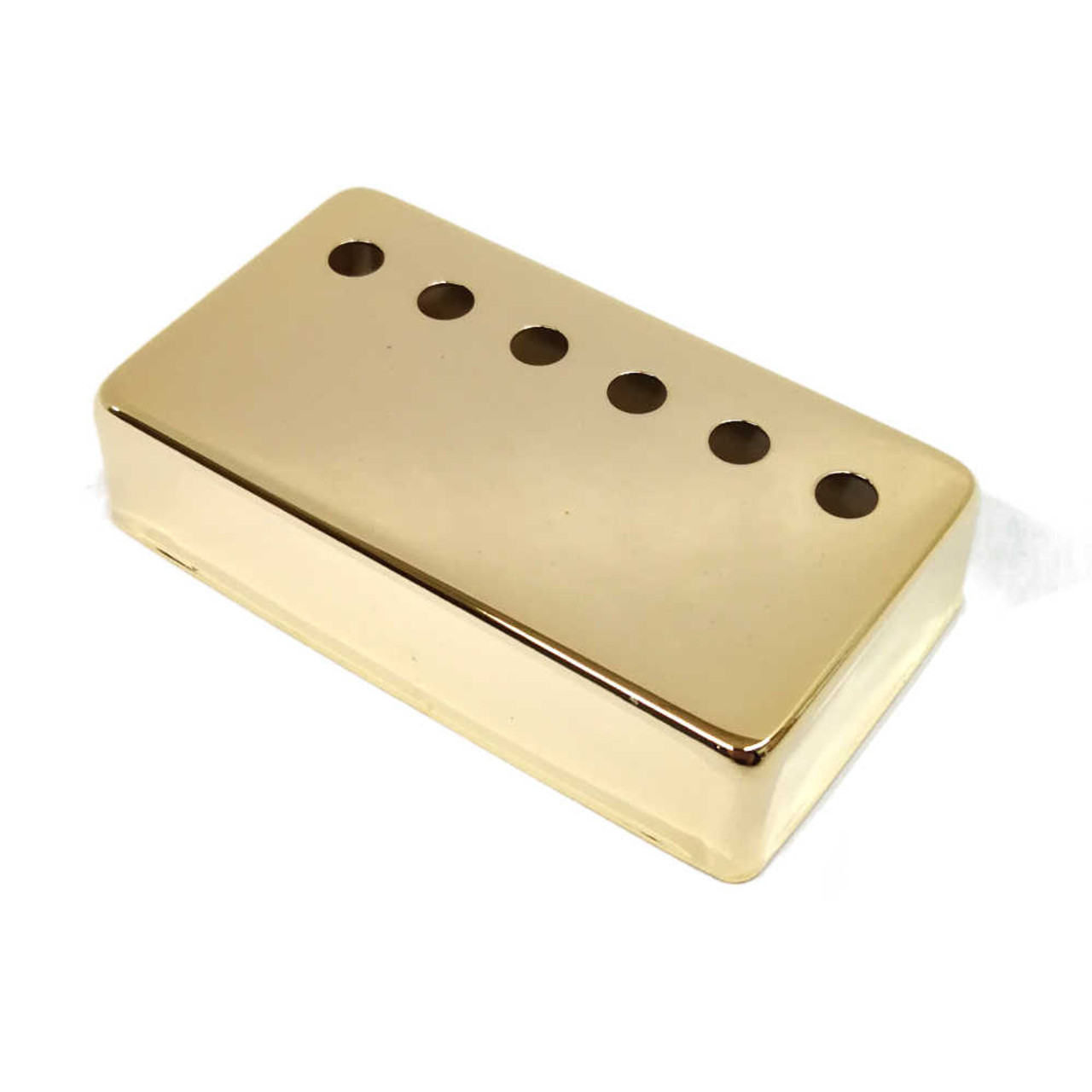 Humbucking Pickup Cover - 52mm Gold (plated nickel/silver)
