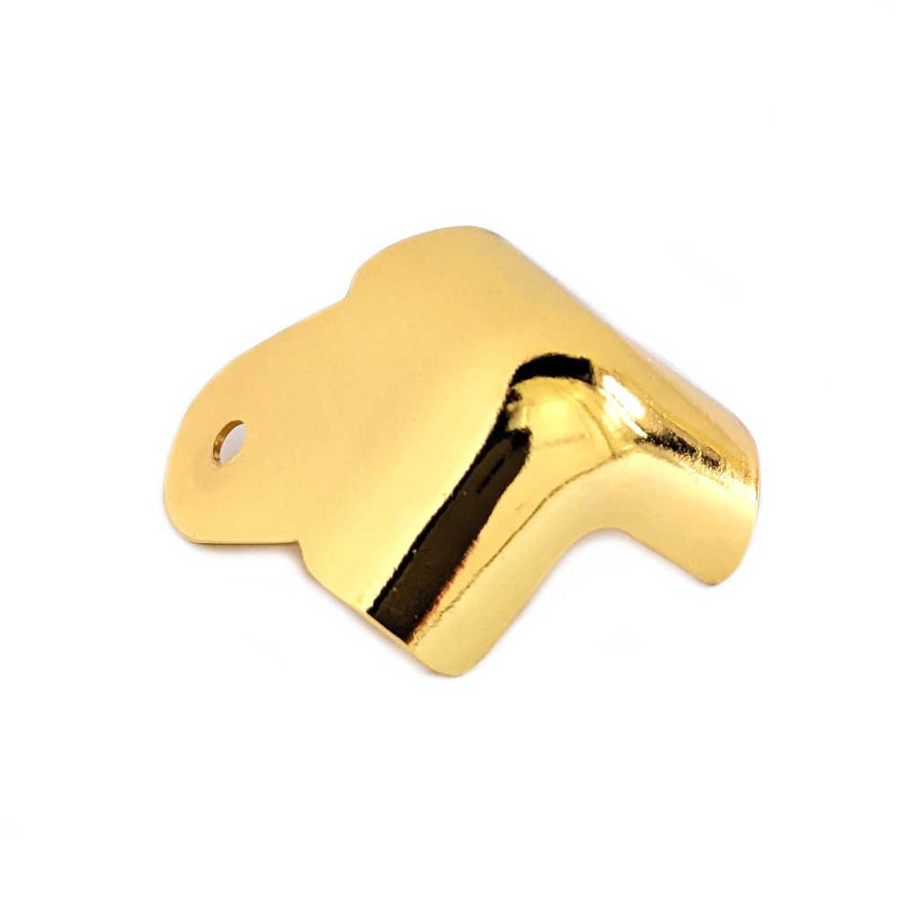 Corner - 2-Leg Notched Gold