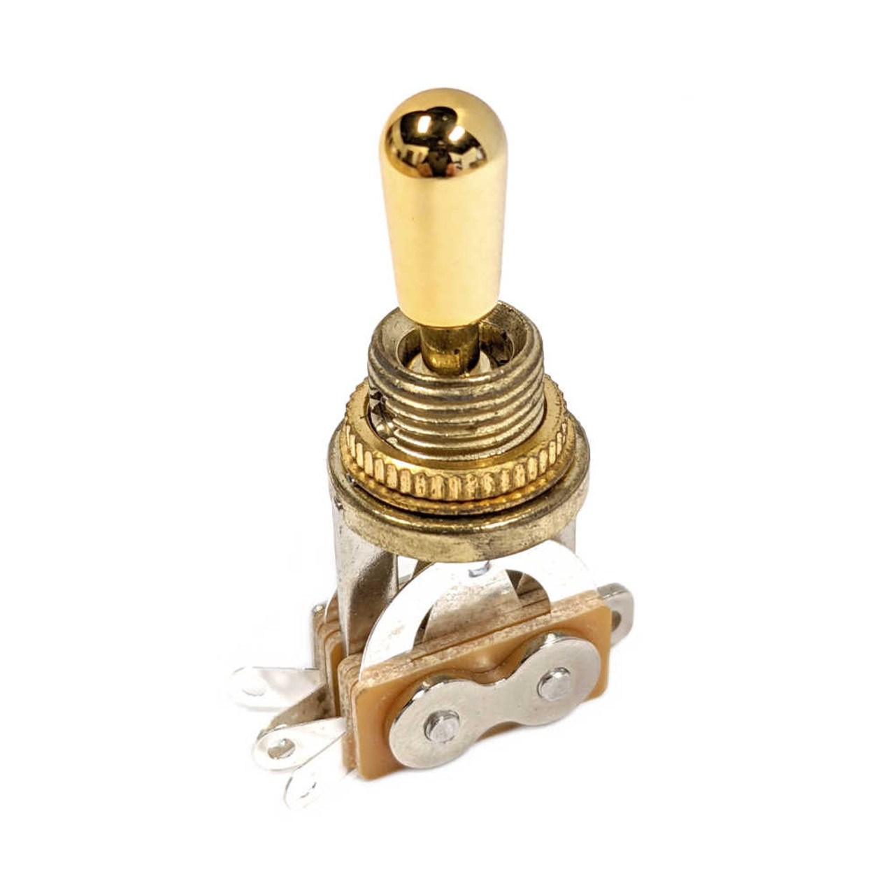 3-way Toggle Switch - Gold /w Gold Metal Tip