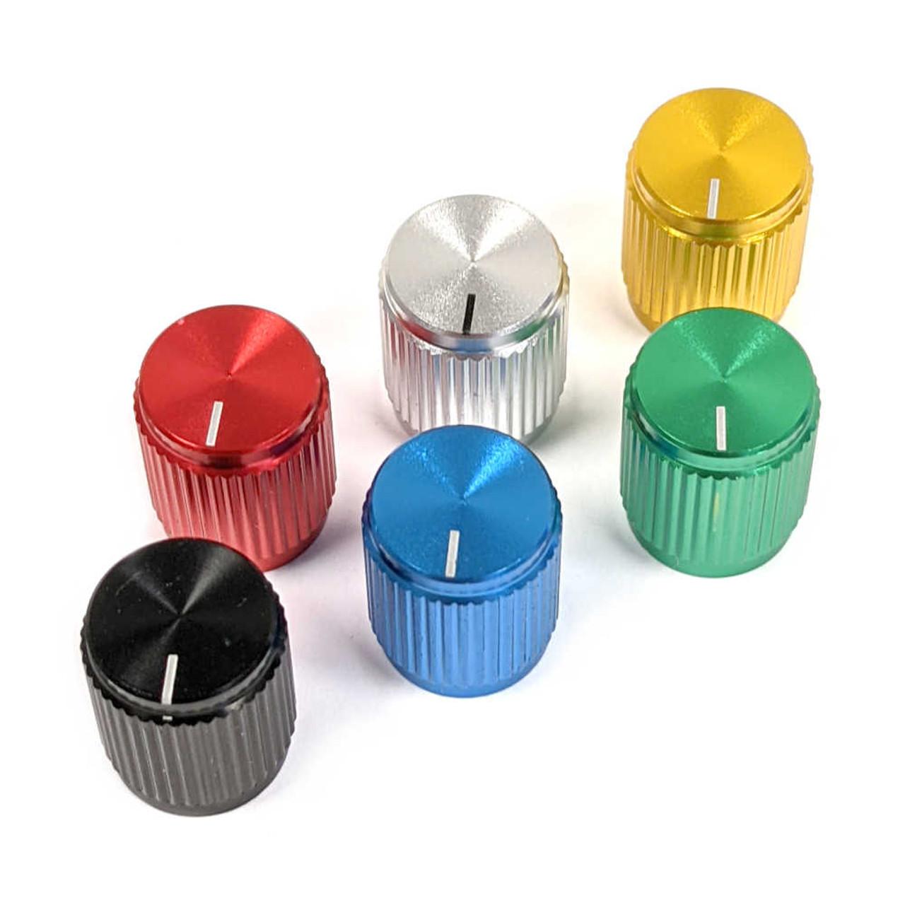 Anodized Aluminum Knob - Small (Choose Colour)