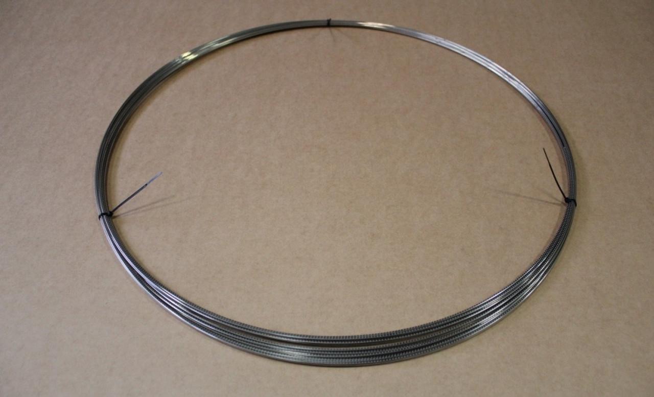 Coiled Fret Wire - 047x095 Nickel/Silver (per pound)