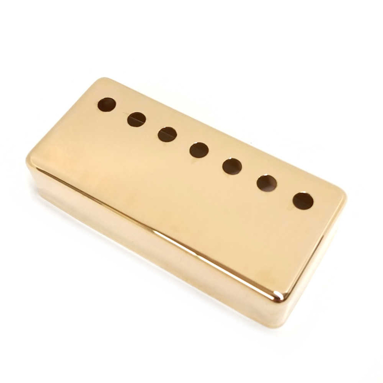 Humbucking Pickup Cover - 7-string Gold (brass; 61.2mm) CLEARANCE