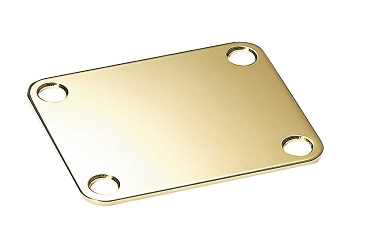Square Neck Plate - Gold