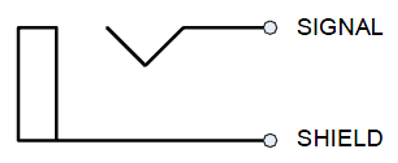 "Switchcraft #11 - 1/4"" Mono Jack"