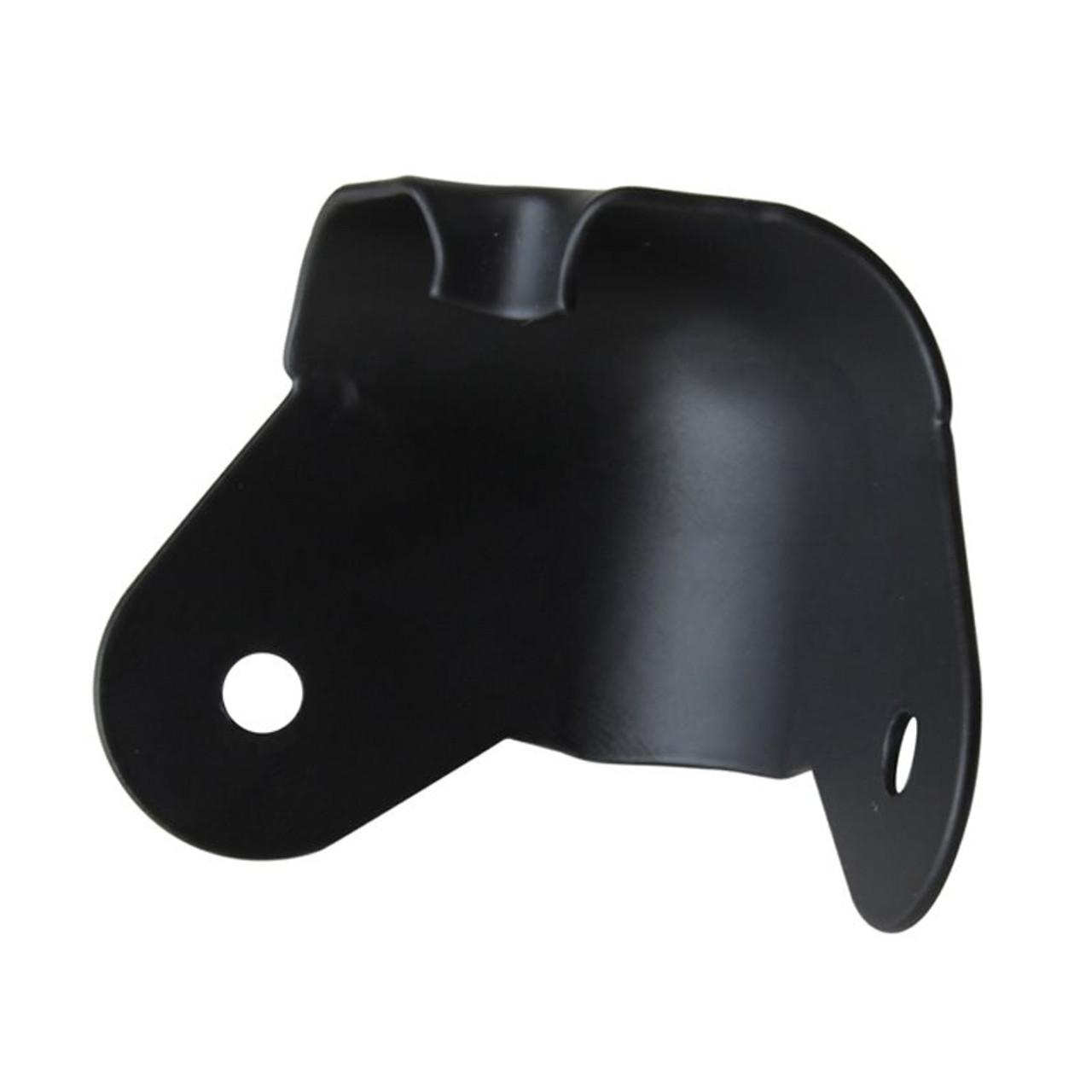 Corner - 2-Leg Wraparound Black