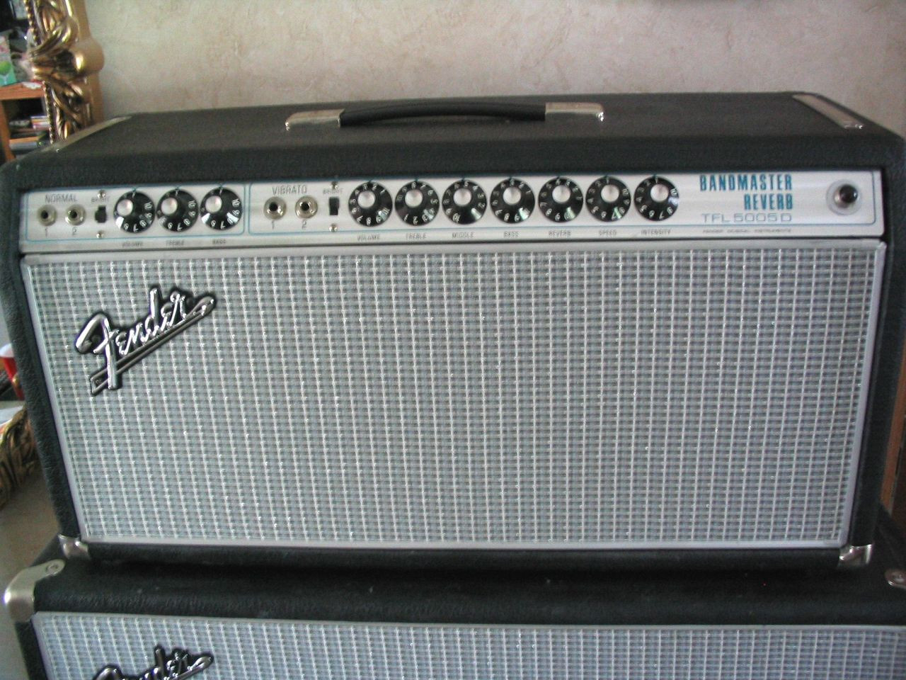 Grill Cloth - Fender Style Grey/Silver/Blue - Customer Example
