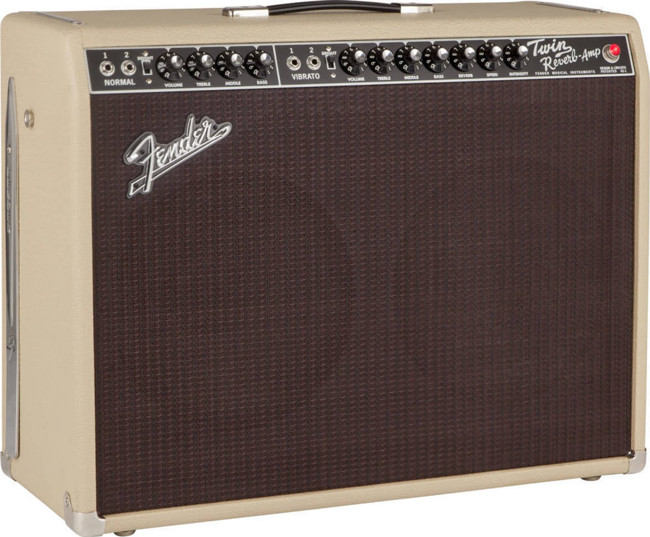 Grill Cloth - Fender Style Oxblood - Example