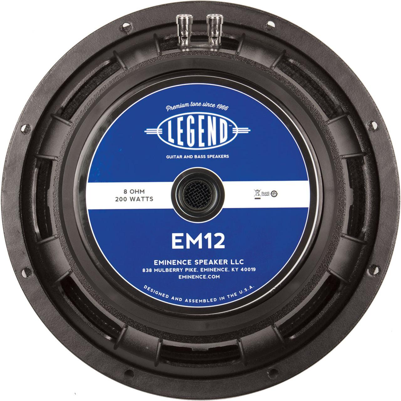Eminence Legend EM12