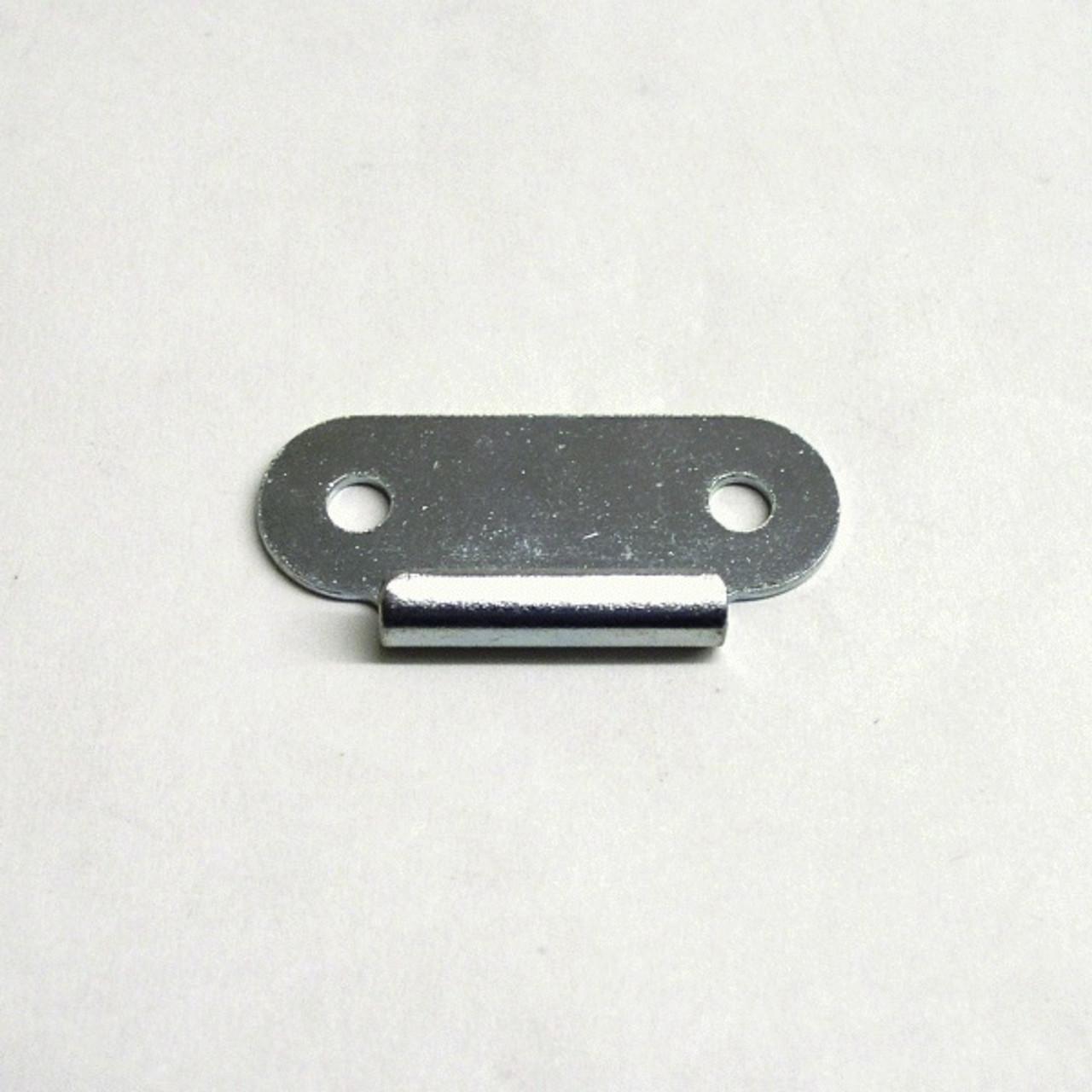 Small Surface Mount Catch/Keeper Plate - Zinc