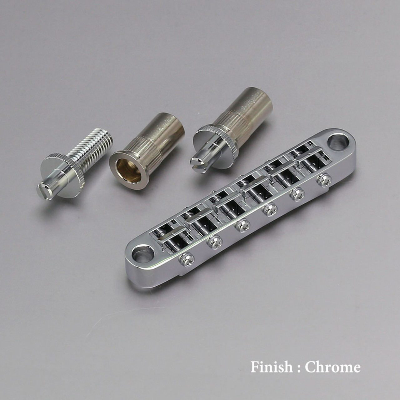 Gotoh GE103B-T - Nashville-style Tune-o-matic Bridge (choose finish)