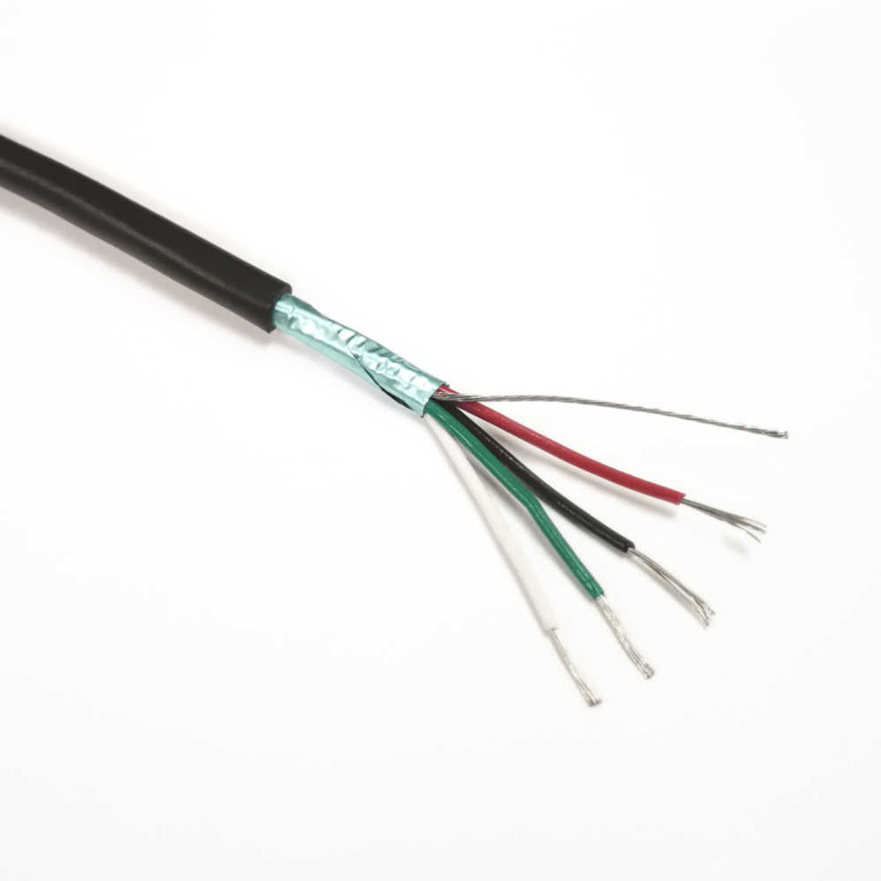 4-Conductor Shielded Wire for Pickups - By Foot