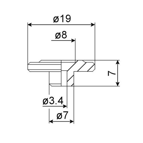Bass String Guides - Technical Drawing