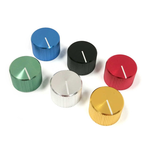 Anodized Aluminum Knob - Choose Colour