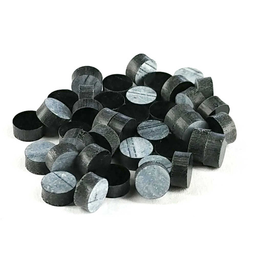 Inlay Dots - 6mm Black (pkg 50) CLEARANCE