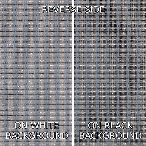 Grill Cloth - Fender Style Grey/Silver/Blue - By Yard