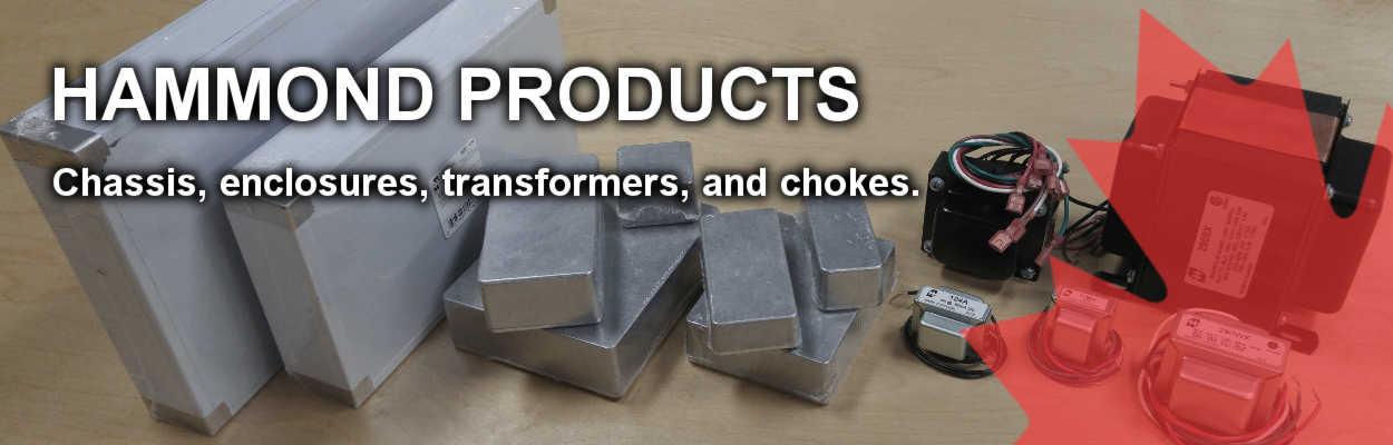 Hammond Enclosures and Transformers