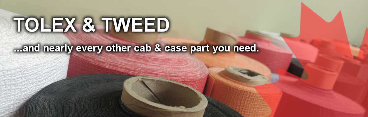Tolex/Tweed, and other cab parts