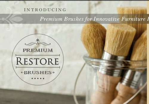 Restore® Natural Bristle Brushes