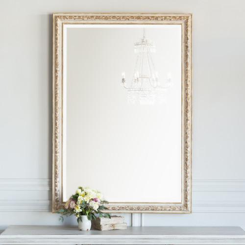 Eloquence® Grande Venetia Mirror in Hand Painted Flora Finish