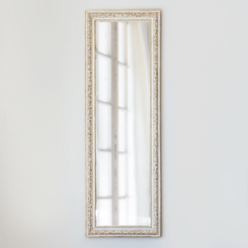 New Design, Eloquence® Venetia Mirror in Hand Painted Flora Finish