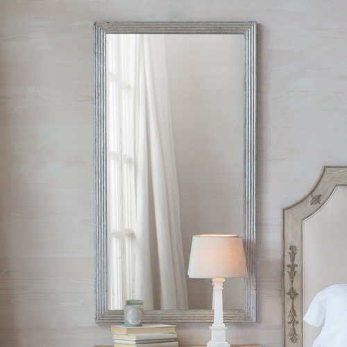 Eloquence® Filipe Mirror in Silver Leaf Finish