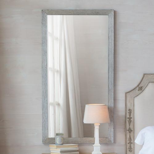 Eloquence® Filipe Mirror in Silver Leaf Finish