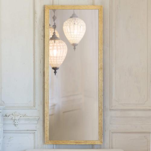 Eloquence® Grande Filipe Mirror in Gold Leaf Finish