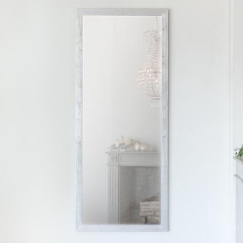 New Design, Eloquence® Grande Filipe Mirror in Silver Leaf Finish