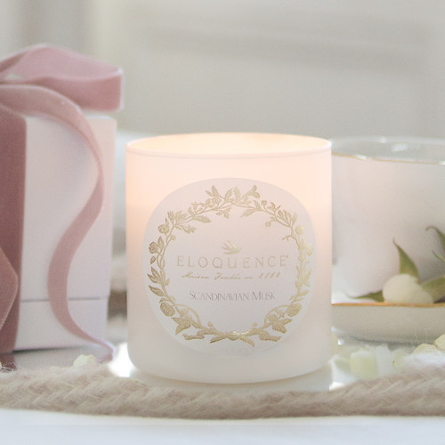 Eloquence® Perfume Candle in Scandinavian Musk
