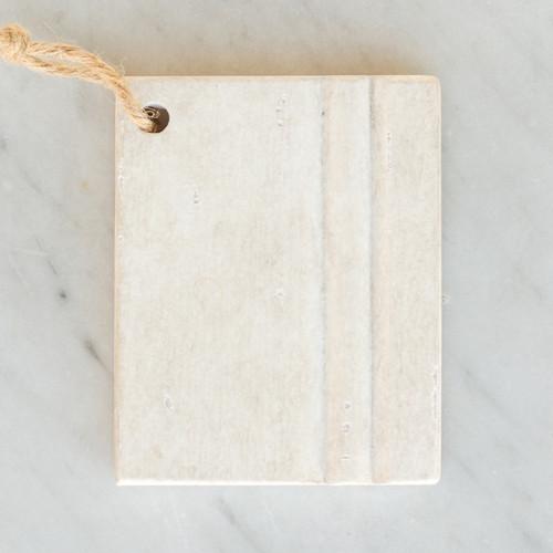 Eloquence® Wood Finish Sample in Rosette White