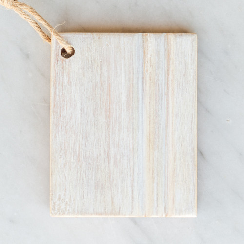 Eloquence® Wood Finish Sample in Glaze White