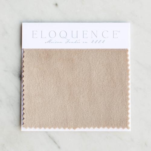 Eloquence® Upholstery Sample in Mocha Velvet