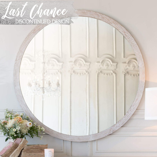 Eloquence® Grande Ambrose Mirror in Lime-Washed Oak Finish