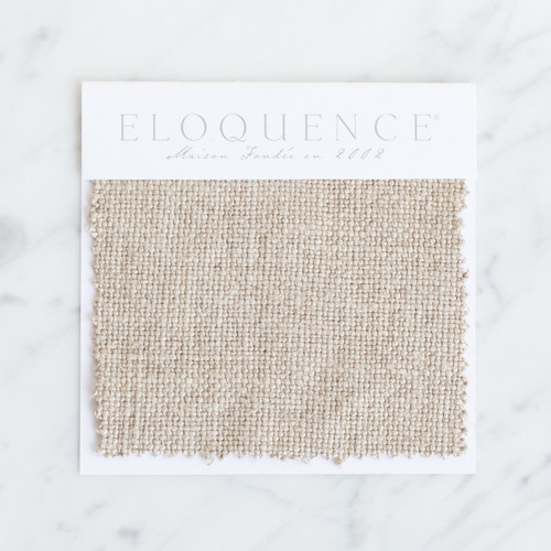 Eloquence® Upholstery Sample in Natural Linen