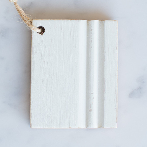 Eloquence® Wood Finish Sample in Alabaster White