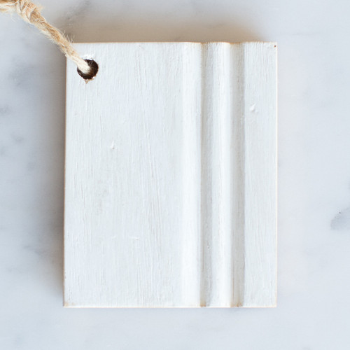 Eloquence® Wood Finish Sample in Chantilly White