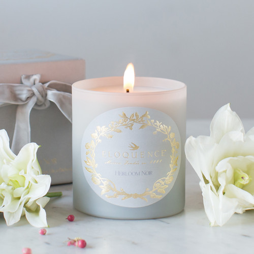 Eloquence® Perfume Candle in Heirloom Noir