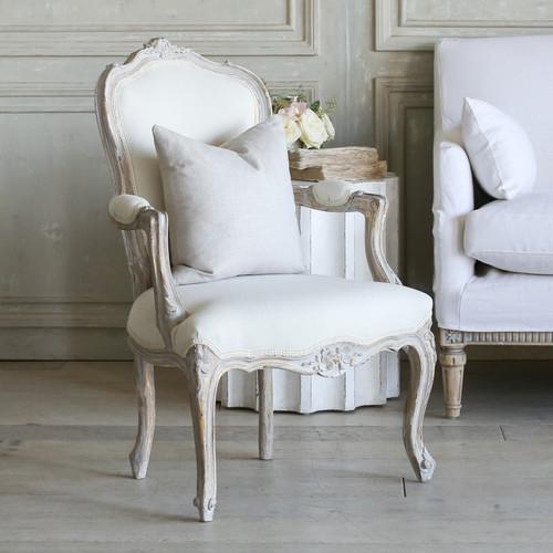 Pair of Vintage Petite Lavender Armchairs AVM77018