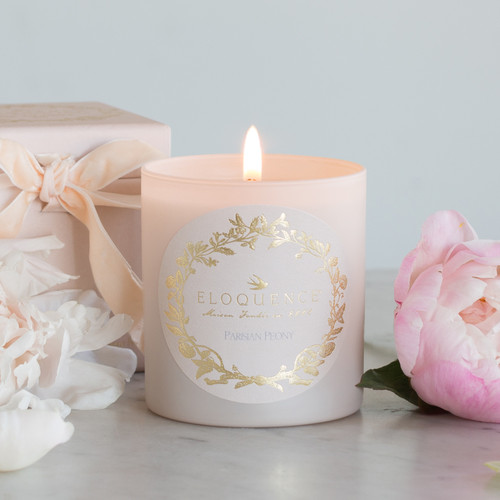 Eloquence® Perfume Candle in Parisian Peony