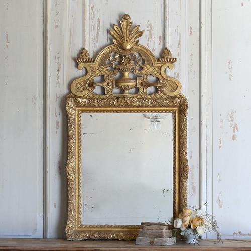Antique Gilt Beaucaire Mirror MVP21081