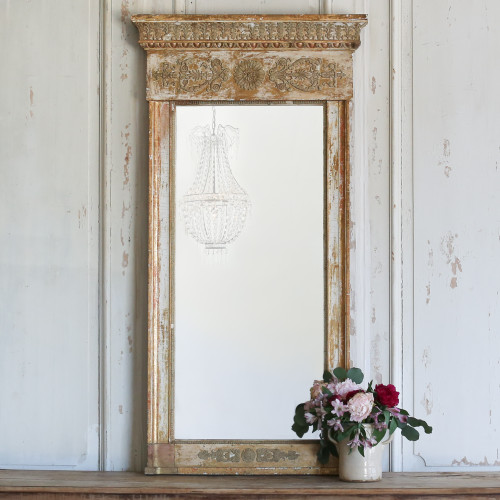 Antique Epoque Trumeau Mirror MVN21030