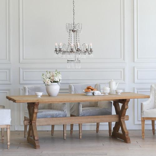Antique Oak Dining Table TDVN25047